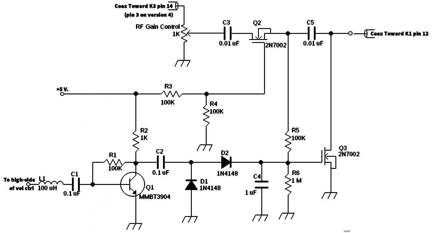 Agc Voltage Controlled Variable Gain Amplifier 1 Automatic Rf Control